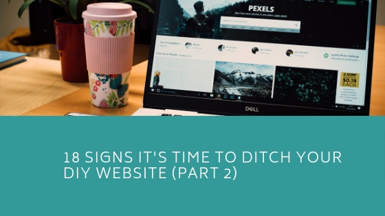 Is It Time To Ditch My DIY Website – Part 2