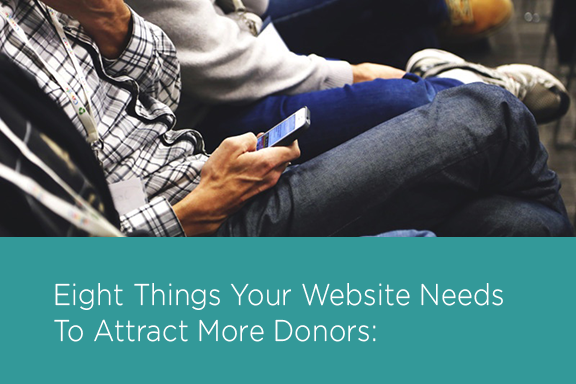 Website needs to attract more donors mobile